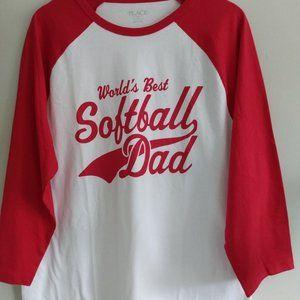World's Best Softball Dad shirt